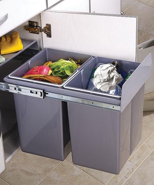 Under Sink Waste Bin Intelorg